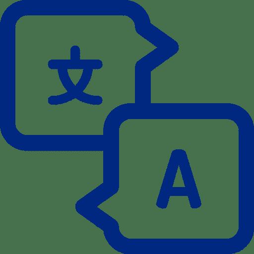 icono idiomas